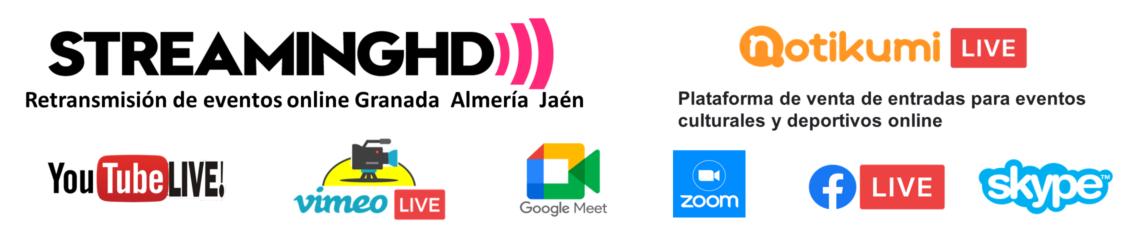Servicios de Streaming en Almería, Granada y  Jaén